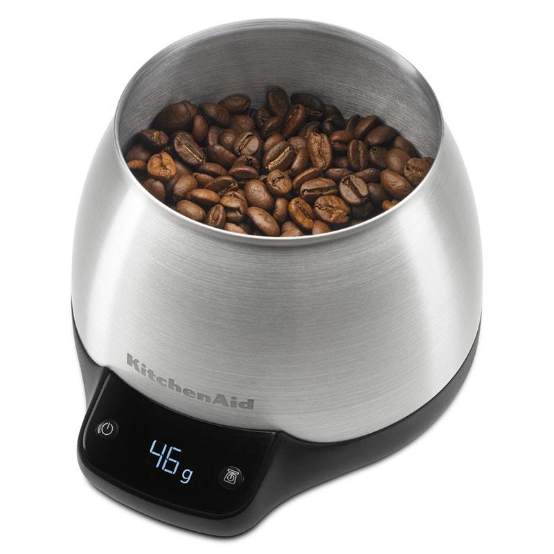 Młynek do kawy+ waga cyfrowa zestaw