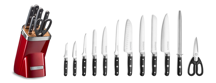 Zobacz noże KitchenAid teraz 30% taniej