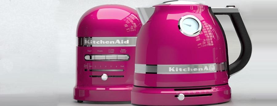 teraz toster i czajnik Artisan w nowym, pięknym kolorze