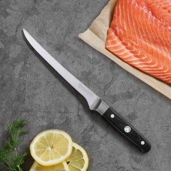 Giętki nóż do filetowania 18cm