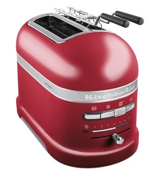 Toster 2 Artisan 5KMT2204 w wariancie czerwony