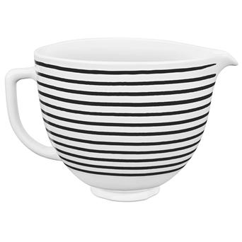 4,7L Unikalne Dzieże Ceramiczne Artisan 5 w wariancie Horizontal Stripes