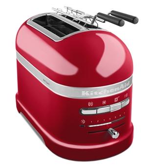Toster 2 Artisan 5KMT2204 w wariancie czerwony karmelek