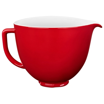 4,7L Unikalne Dzieże Ceramiczne Artisan 5 w wariancie czerwony